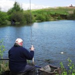 Ian Landing a Leacroft Bream