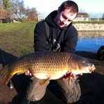 Richard Higham 20lb 8 oz common Jan 7th 2012