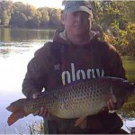 Stuart Dean 20lb 3oz common from calf heath peg 53