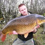 Tom Merchant 'The Big Common' 28lb 8oz Oct 2011 (3)