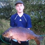 Alex Walker 21lb 2oz Leacroft Aug 2012