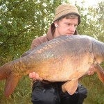 Jake Price with Robs Fish at 20lb 2oz Sept 2012