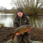 Luke first carp of 2013