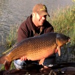 Steve Hall  31lb 2oz Leacroft Common Oct 2014 2