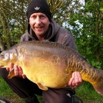 Jimmy Bell 26lb Leacroft Mirror 6th June 2015