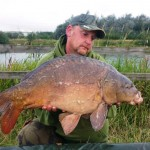 Scott Riley 'Robs Fish' Leacroft 25lb Aug 2016